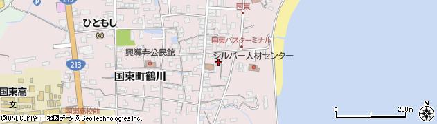 大分県国東市国東町鶴川722周辺の地図