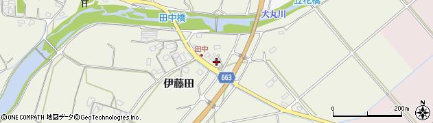大分県中津市伊藤田1895周辺の地図