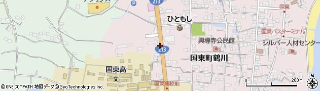 大分県国東市国東町鶴川1922周辺の地図