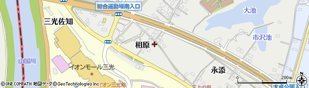 大分県中津市相原2818周辺の地図