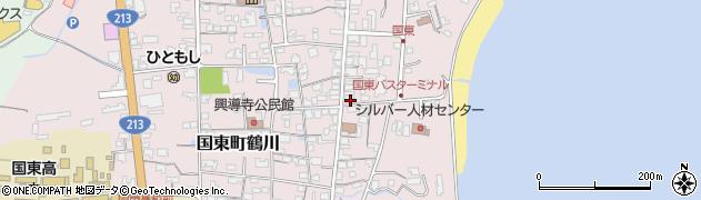 大分県国東市国東町鶴川716周辺の地図