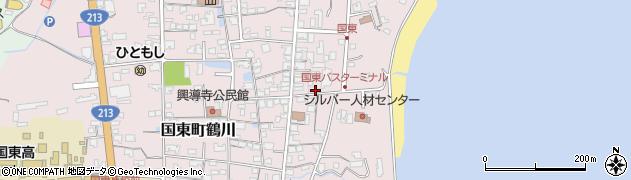 大分県国東市国東町鶴川718周辺の地図