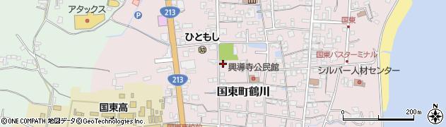 大分県国東市国東町鶴川1395周辺の地図