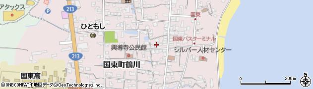 大分県国東市国東町鶴川1241周辺の地図