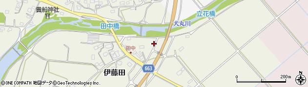 大分県中津市伊藤田1884周辺の地図