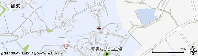 大分県中津市加来381周辺の地図
