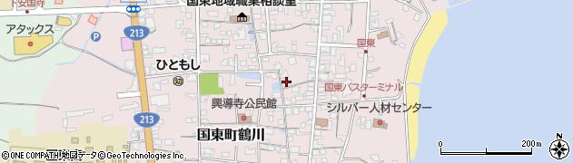 大分県国東市国東町鶴川1238周辺の地図