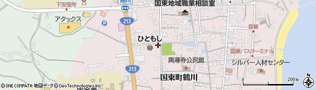 大分県国東市国東町鶴川1827周辺の地図