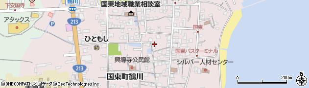 大分県国東市国東町鶴川1262周辺の地図