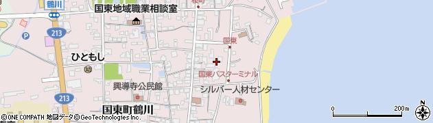 大分県国東市国東町鶴川614周辺の地図