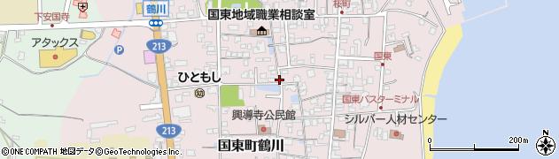 大分県国東市国東町鶴川1372周辺の地図