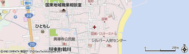 大分県国東市国東町鶴川624周辺の地図