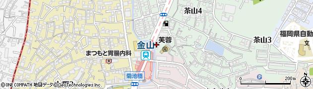 株式会社金山周辺の地図