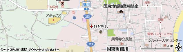 大分県国東市国東町鶴川1902周辺の地図