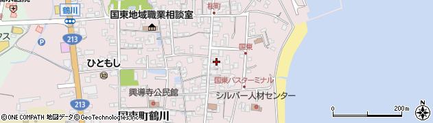 大分県国東市国東町鶴川623周辺の地図