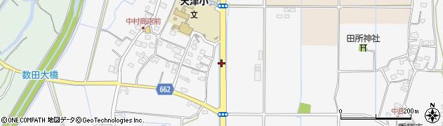 大分県宇佐市下敷田周辺の地図