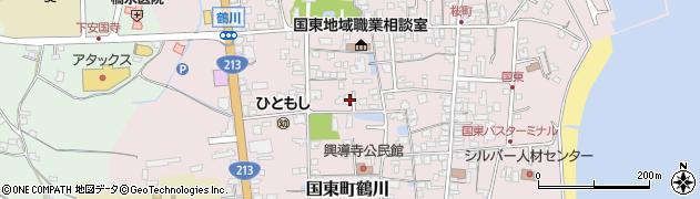 大分県国東市国東町鶴川1361周辺の地図