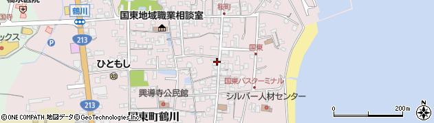 大分県国東市国東町鶴川1254周辺の地図