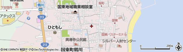 大分県国東市国東町鶴川1267周辺の地図