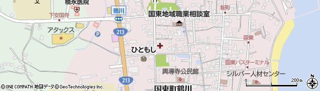 大分県国東市国東町鶴川1351周辺の地図