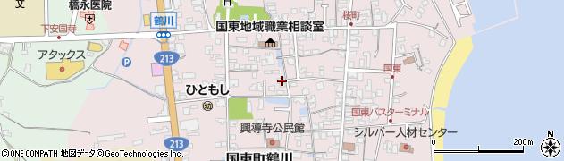 大分県国東市国東町鶴川1371周辺の地図