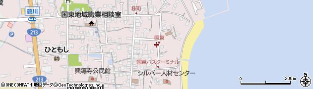 大分県国東市国東町鶴川606周辺の地図
