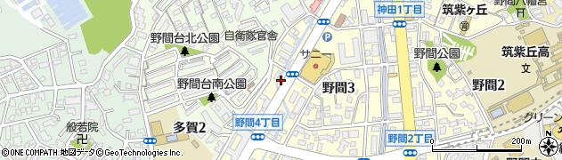 アンズガーデン周辺の地図