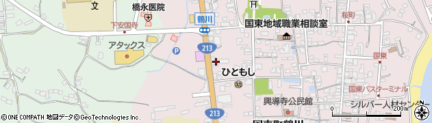 大分県国東市国東町鶴川1898周辺の地図