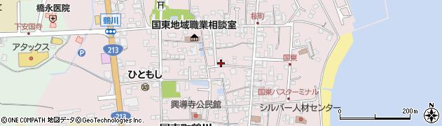 大分県国東市国東町鶴川1270周辺の地図