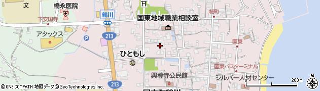大分県国東市国東町鶴川1357周辺の地図