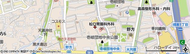辻山習字教室周辺の地図