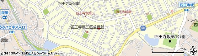 福岡県宇美町(糟屋郡)四王寺坂周辺の地図