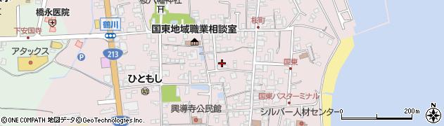 大分県国東市国東町鶴川1277周辺の地図