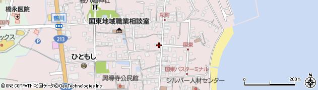 大分県国東市国東町鶴川1286周辺の地図