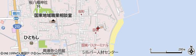 大分県国東市国東町鶴川547周辺の地図