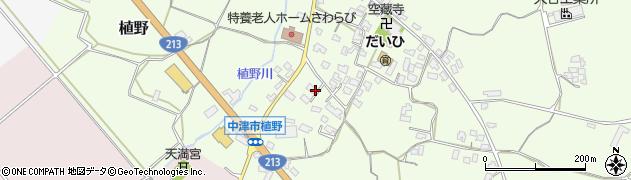 大分県中津市植野340周辺の地図