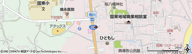 大分県国東市国東町鶴川1890周辺の地図