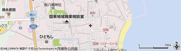 大分県国東市国東町鶴川1291周辺の地図