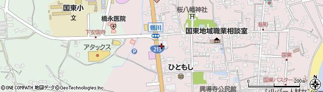 大分県国東市国東町鶴川1889周辺の地図