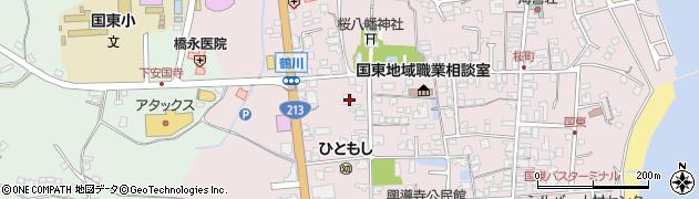 大分県国東市国東町鶴川1849周辺の地図