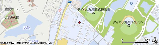 大分県中津市加来2238周辺の地図