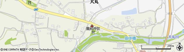 大分県中津市伊藤田2447周辺の地図