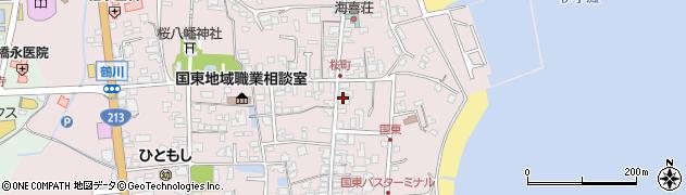 大分県国東市国東町鶴川524周辺の地図