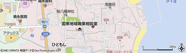 大分県国東市国東町鶴川1323周辺の地図
