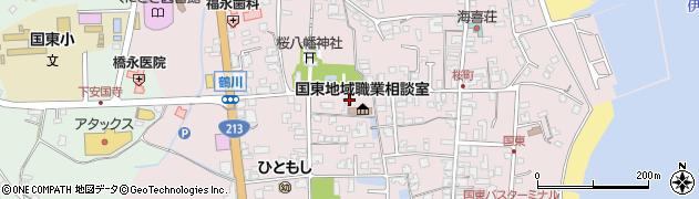 大分県国東市国東町鶴川1337周辺の地図