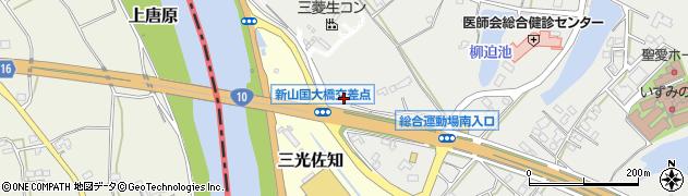 大分県中津市相原2865周辺の地図