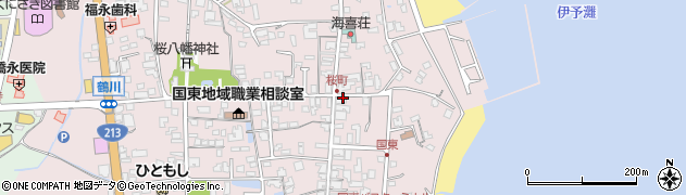 大分県国東市国東町鶴川522周辺の地図