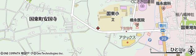 大分県国東市国東町安国寺630周辺の地図