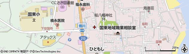 大分県国東市国東町鶴川211周辺の地図