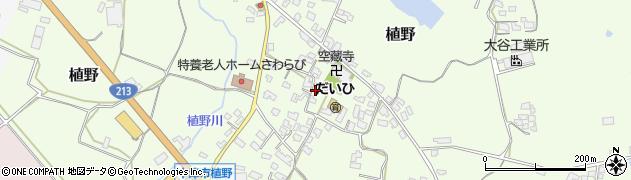 大分県中津市植野305周辺の地図